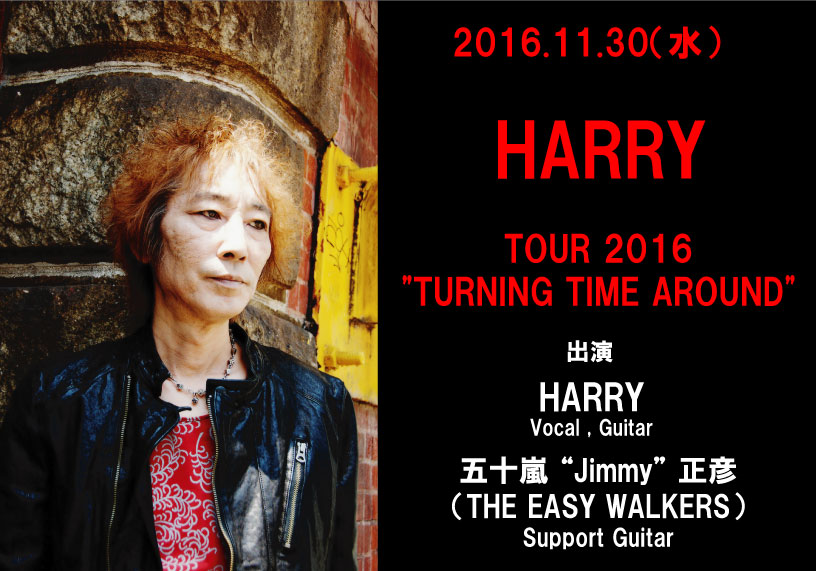 "HARRY TOUR 2016 ""TURNING TIME AROUND"""